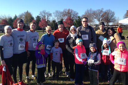 Team SolutionWorx at Freeze Your Gizzard Race