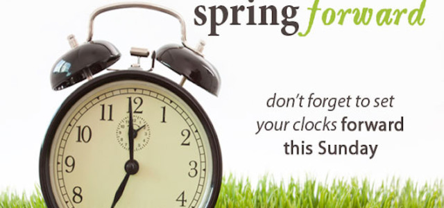 Day Light Savings Time Spring Forward