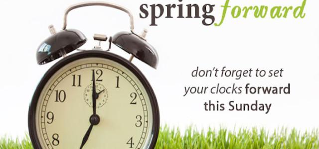 Day Light Savings Time Spring Forward