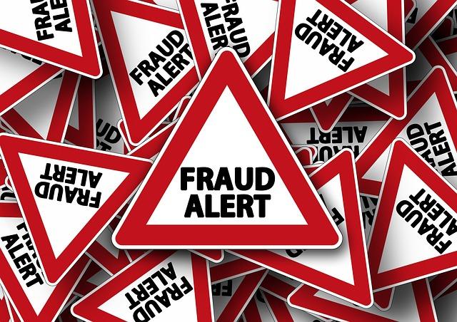 Fraud and Phishing Alert