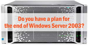 Window Server 2003 End of Life