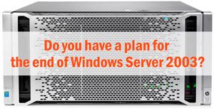 Window Server 2003 End of Life